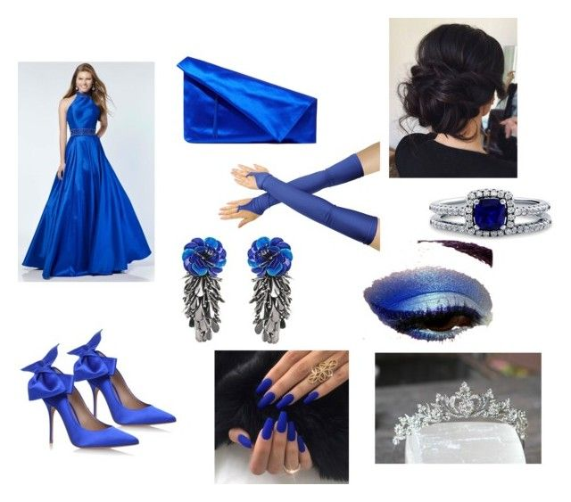 """Preppy Prom"" by outfit-creator ❤ liked on Polyvore featuring Alyce Paris, Diane Von Furstenberg, BERRICLE, Forest of Chintz, pretty and fabulous"
