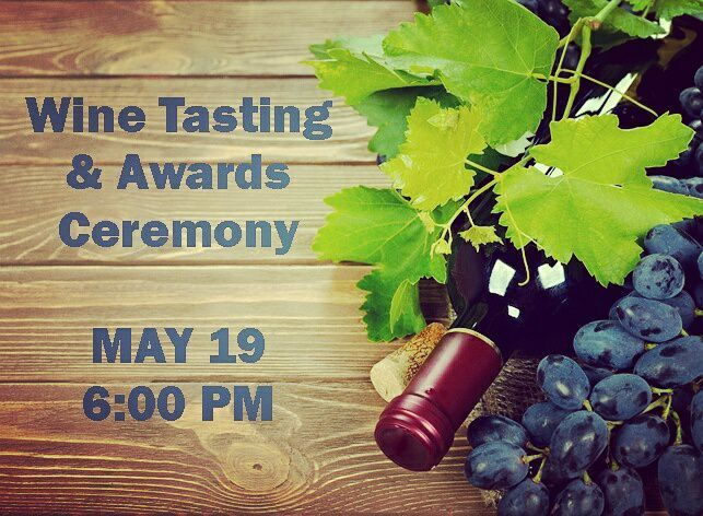Save the date! May 19 @ 6pm #WineTasting  & Awards Ceremony  annual El Dorado County Commercial Wine Comp. #DontMissOut #eldoradocounty  Buy tickets now: http://ift.tt/2mctb6N