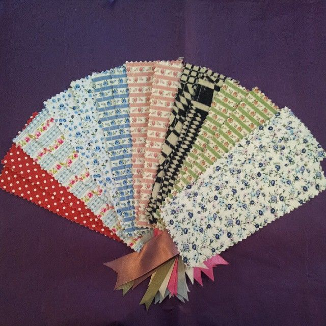 Gorgeous new fabric book marks by new supplier Zarin very lovely fabrics #Huddersfield #handmade
