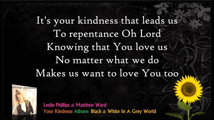Your Kindness - Leslie Phillips