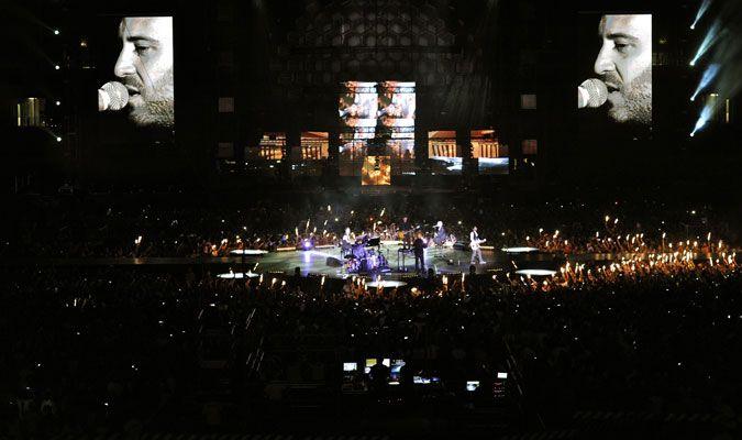 #Sei live at Stadio Olimpico - Rome @negramaro
