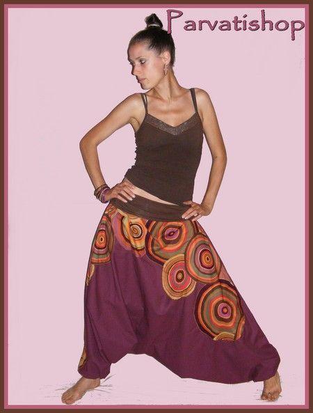 Sarouel (Free Pattern & Tutorial) (French)
