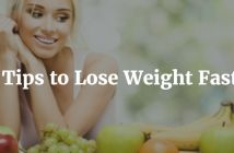 3 tips to lose weight fast