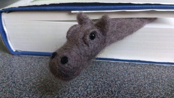 hello little fella! hippo bookmark