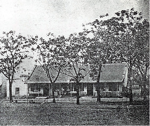The Plough Hotel, Pietermaritzberg 1. Early photo - late 19th century. No longer in existence - see The Plough Hotel, Pietermaritzberg 2.