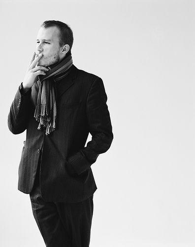 Heath Ledger. My other birthday twin :)