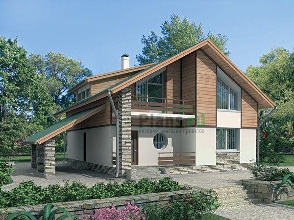 Внешний вид :: Проект дома 70-78