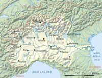 Po bacino idrografico - ポー川 - Wikipedia