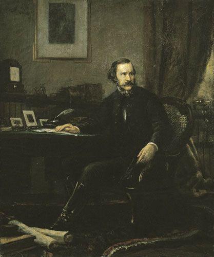 Madarász Viktor-Báró Eötvös József