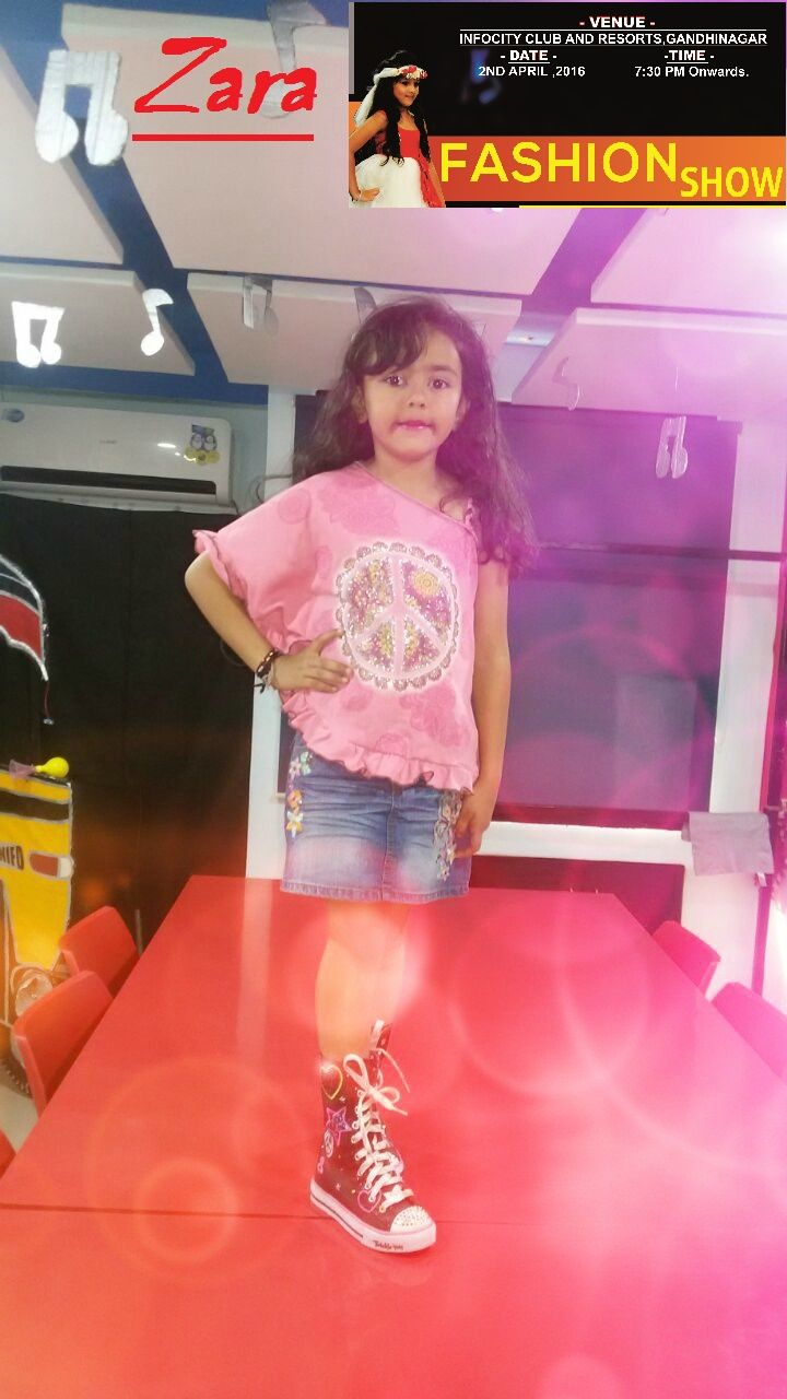 Kids Fashion Show 2016 - INIFD Gandhinagar