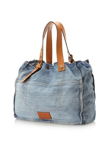 50% OFF RED Valentino Women's Bow Tote, Blue Denim