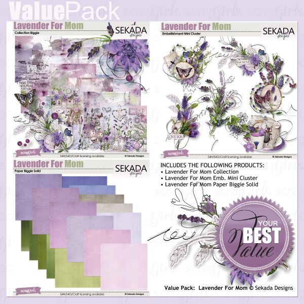 LAST MOMENT Save 40% off !Value Pack: Lavender For Mom