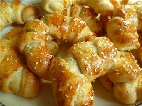 Türkische Kartoffelhörnchen-Patatesli serit pogca - YouTube