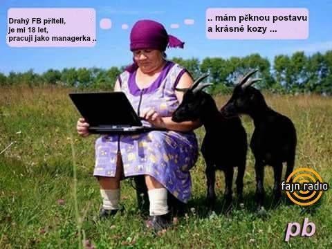 Drahý FB příteli, je mi 18 let, pracuji jako manažerka...mám pěknou postavu a krásné kozy...