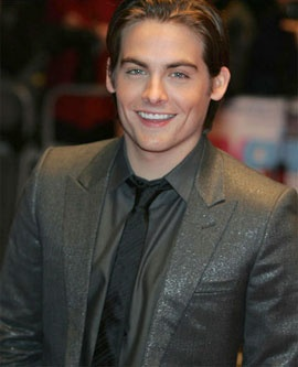 Kevin Zegers. He has the cutest grin ever!!! And look at those cheekbones.... And his EYES!!