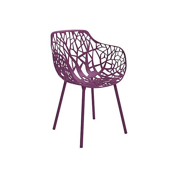 Forest Outdoor Armchair Plum Outdoor Dining Chairs ($449) ❤ liked on Polyvore featuring home, outdoors, patio furniture, outdoor chairs, plum, outdoor garden furniture, contemporary outdoor furniture, janus et cie and outside patio chairs