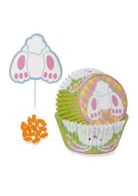 Wilton Bakeware  Bunny Butt Cupcake Decorating Kit