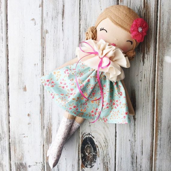 Dahlia  SpunCandy Classic Doll Heirloom Quality Doll by SpunCandy