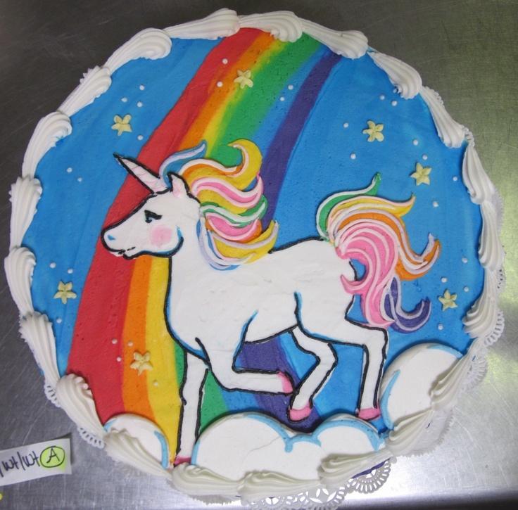 Unicorn Rainbow cake...i want this!! #icingonthecakelosgatos