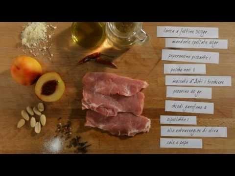 Involtini di lonza alla pesca e moscato d'Asti #ricette #Neff #cookingpassion