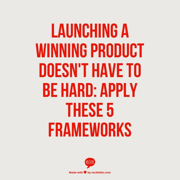 This video course by Rajeev Roy, Associate Professor at Indian Institute of Management, familiarizes you with some of the most important marketing strategy frameworks that will help you launch a winning product. http://www.nenonline.tv/launching-a-wining-product/ #startup #entrepreneur #marketing