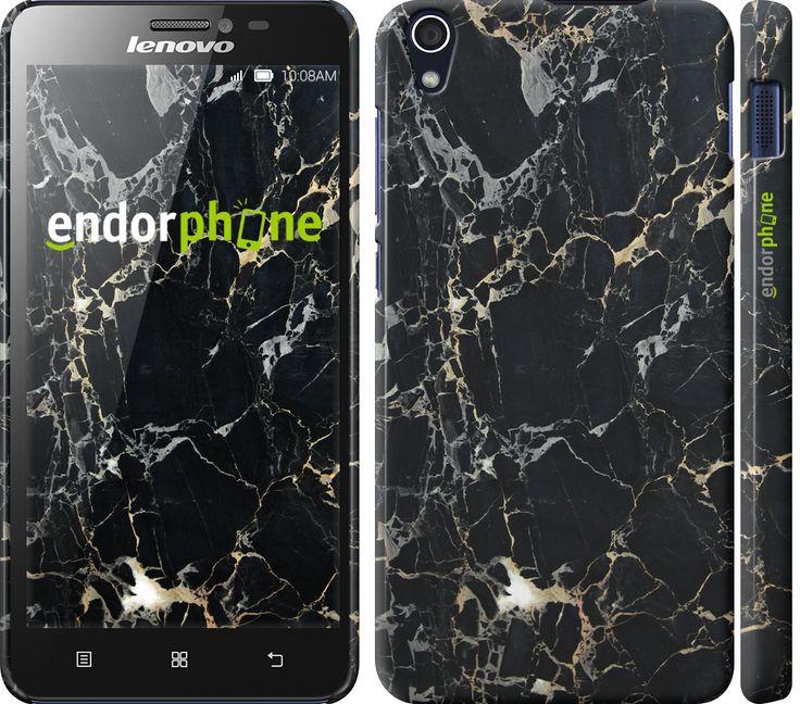 """Купить эксклюзивный чехол """"Черный мрамор"""" для Lenovo S850 в интернет-магазине Endorphone"""