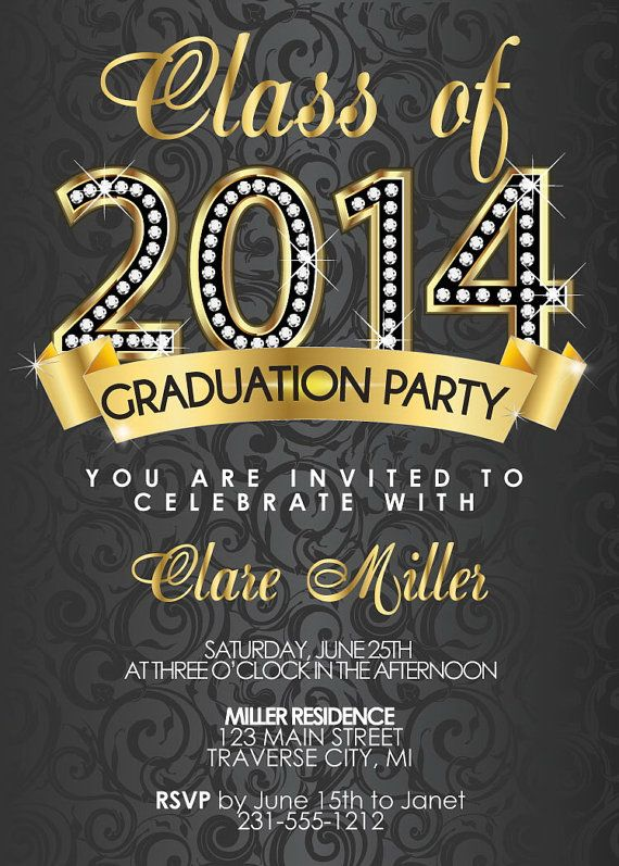 45 Best Graduation Invitations Images On Pinterest | Graduation