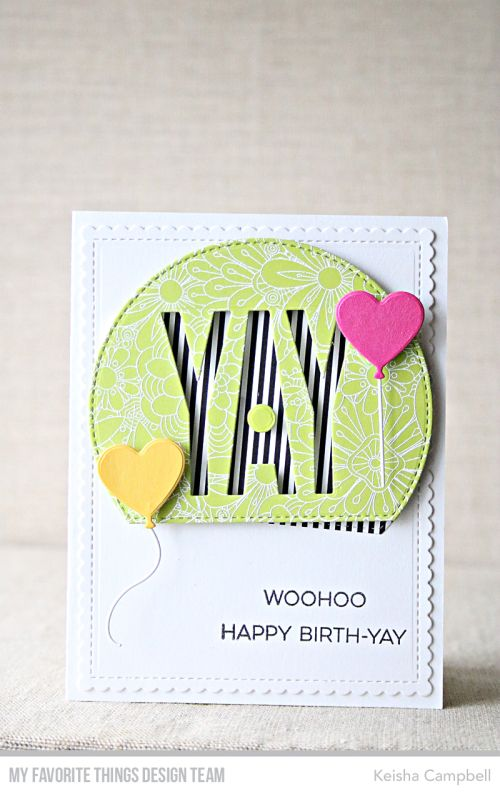 MFT's January card kit Yay for You-day 2 | Cards I want to