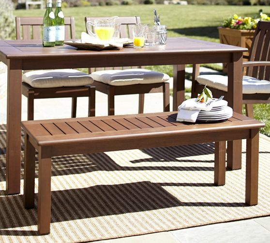 Chatham Dining Bench Pottery Barn Outdoorsy Pinterest Products Dining Bench And Benches