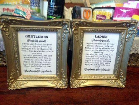 Bathroom Signs Templates best 20+ wedding toiletry basket ideas on pinterest | wedding
