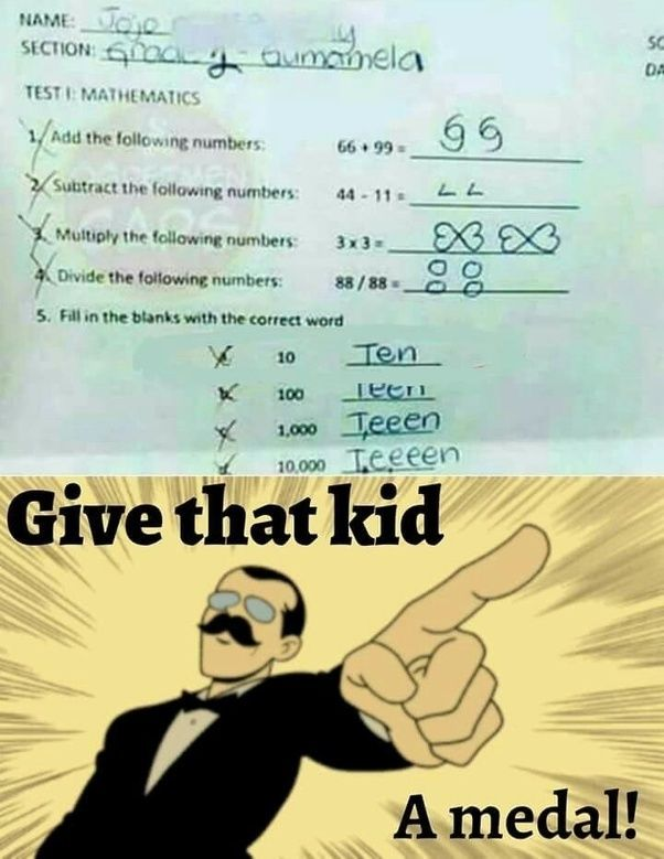 Home Quora Funny Test Funny Test Answers Funny Jokes