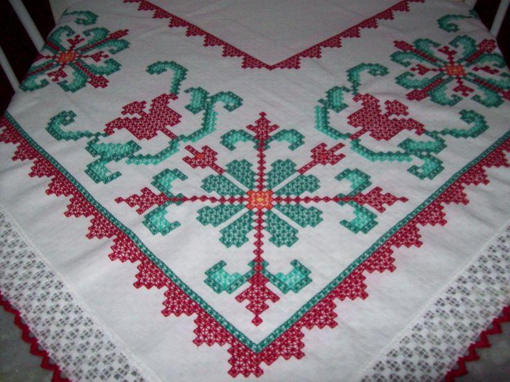 Toalha de mesa em xadrez branco - Wâninha Santos