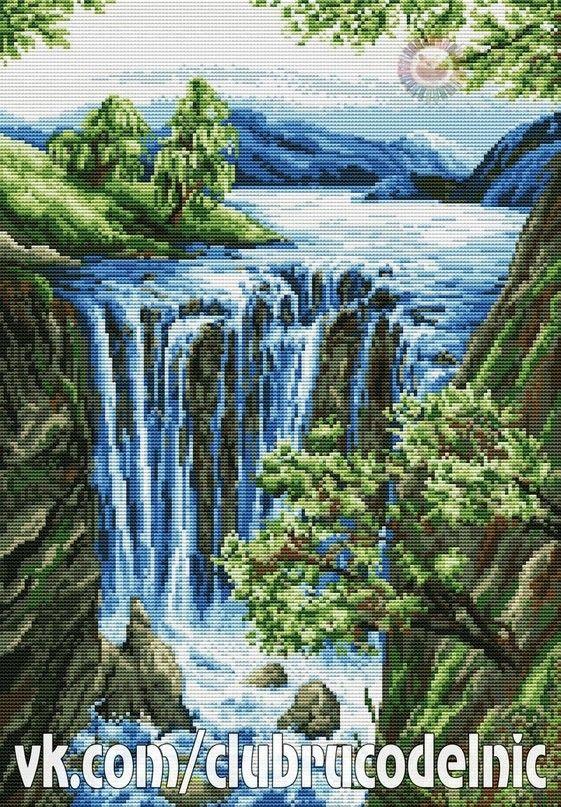 Waterfall Summer