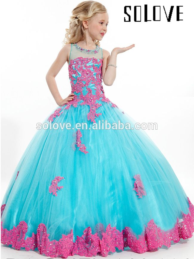 Ball gowns for 7 year olds Photo - 8