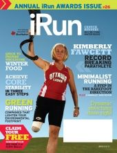 Cover photo of iRun Magazine | 2012 Issue 01  November 2011