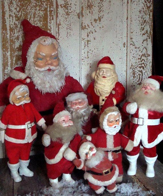 I miss the scary santas