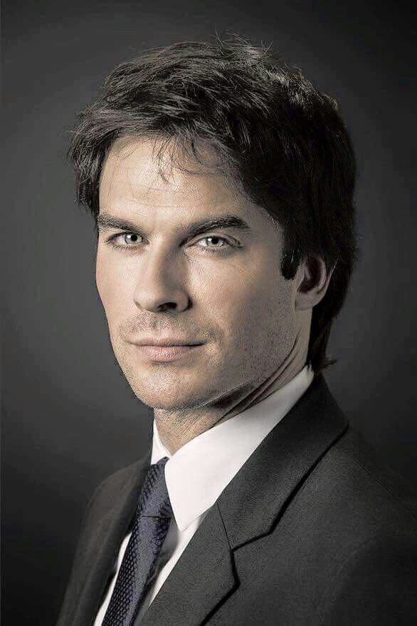 OMG! Ian Somerhalder Portrait from Champions for Earth Summit