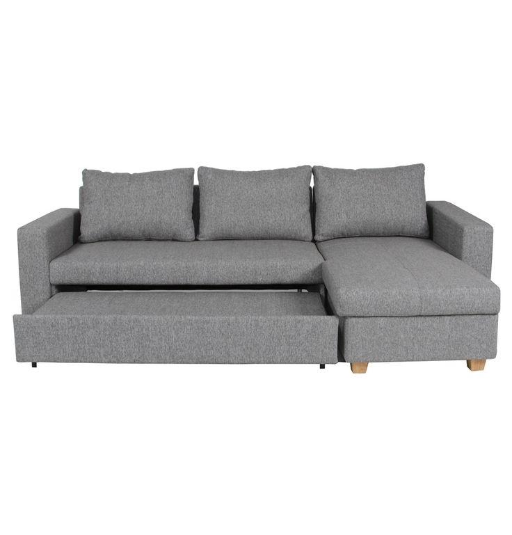 The Range Sofa Beds Part - 22: Venturi Chaise Sofa Bed - Matt Blatt