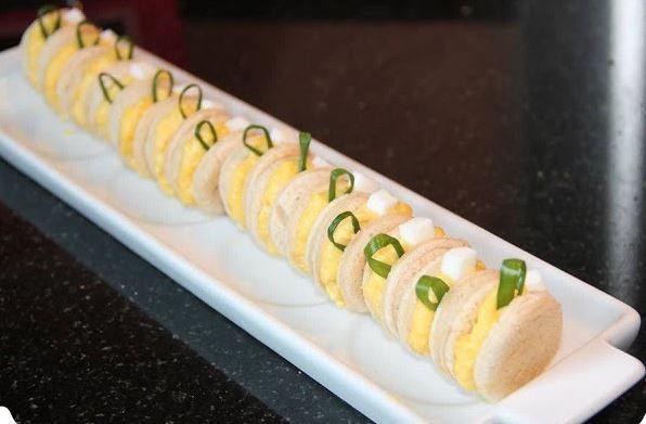 L'oeuf mimosa à grignoter du bout des doigts – Cuisine en Folie