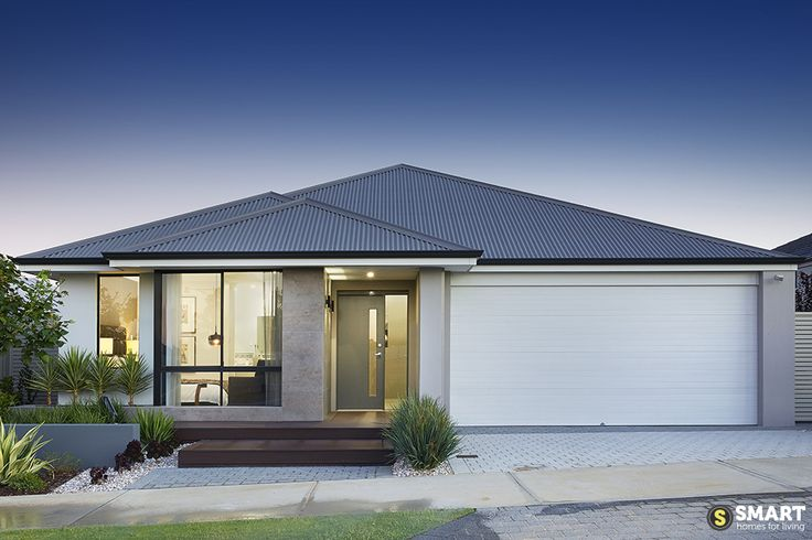 The modern elevation of The Apex display home.