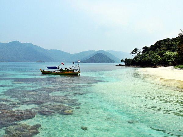 Legundi Island. Lampung - South Sumatera