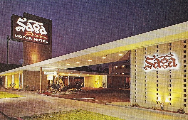 Saga Motor Hotel Pasadena By Hmdavid Via Flickr Pasadena California Pinterest Photos