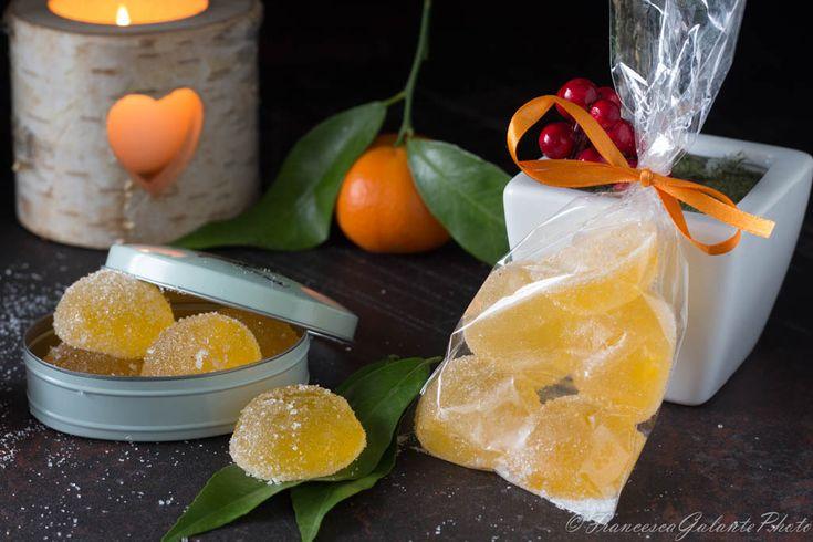 Amici che ne pensate di questa idea ? le mie caramenlle gommose gusto clementine idea regalo. Un pensiero carino per i nostri ospiti..