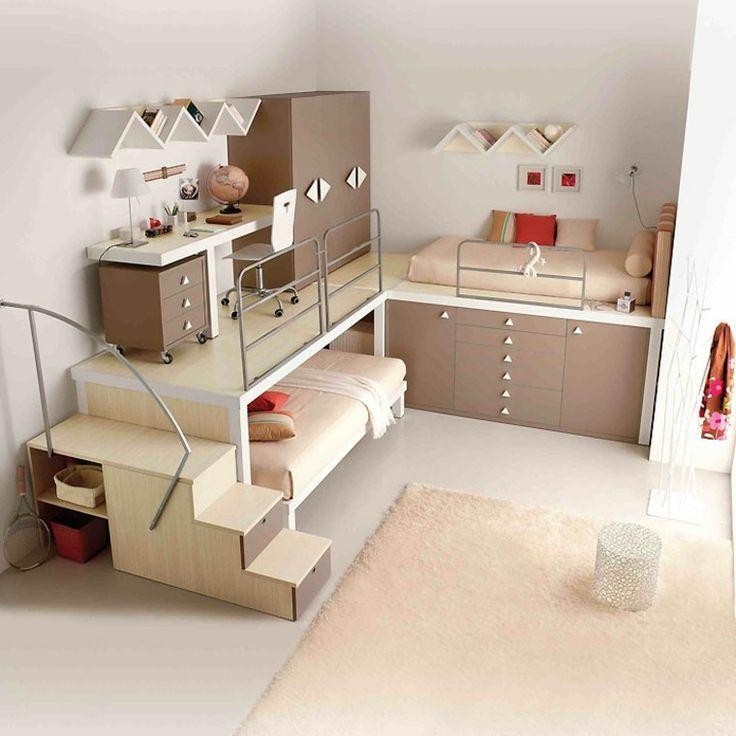 Les 25 meilleures id es de la cat gorie chambre partag e for Organiser chambre bebe
