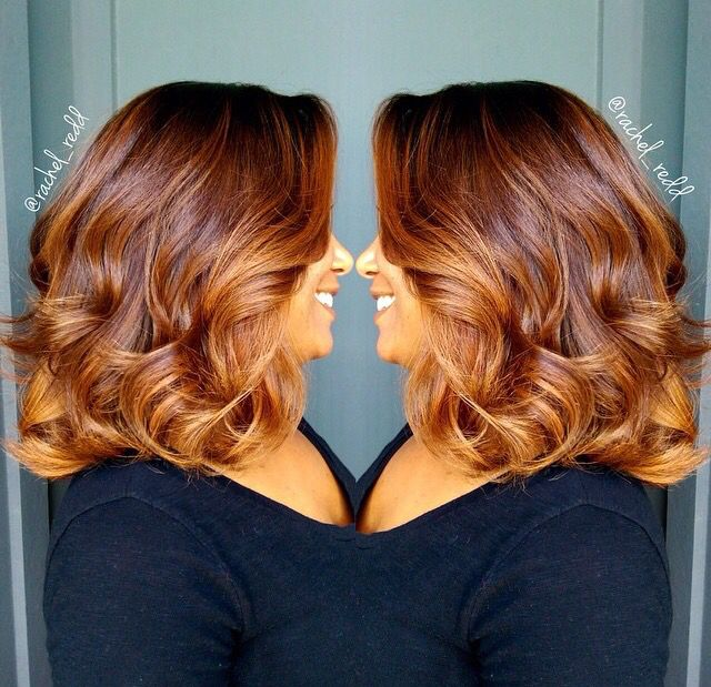 Perfect hair color.