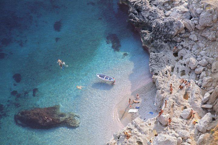 Jump in! Capri, Italy
