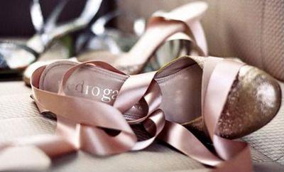 Schoenen met linten