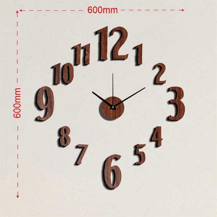 25 best ideas about reloj pared adhesivo en pinterest - Reloj de cocina moderno ...