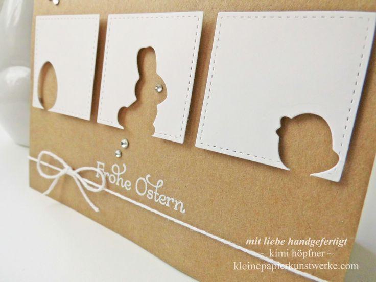 #osterkarte mit den #framelits #osterkörbchen von #stampinup