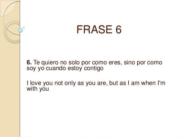 Frases en ingles traducidas a español!